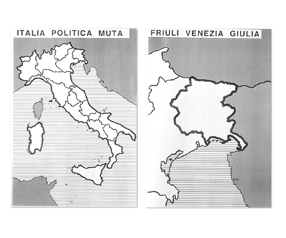 Cartina Muta Emilia Romagna.L Italia E Le Regioni Italiane Carte Mute